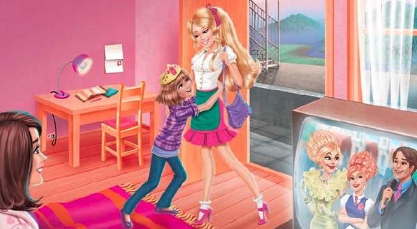 Barbie a škola pre princezné