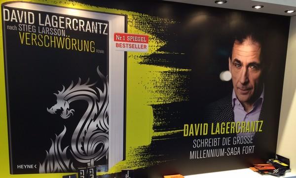 David Lagercrantz a 4.diel Millennia: Dievča, ktoré uviazlo v pavúčej sieti.