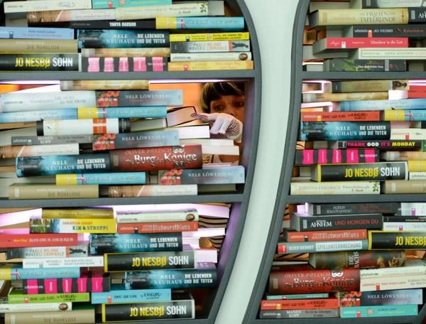 Frankfurt Buchmesse - najväčší knižný veľtrh na svete.