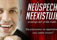 Peter Sasín: Začnite pracovať na svojom úspechu a šťastí!
