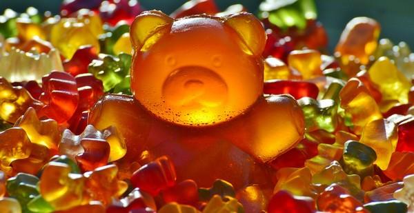 gumené medvedíky
