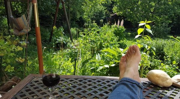 pohoda prírodná záhrada