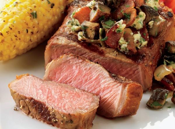 grilovanie steaku