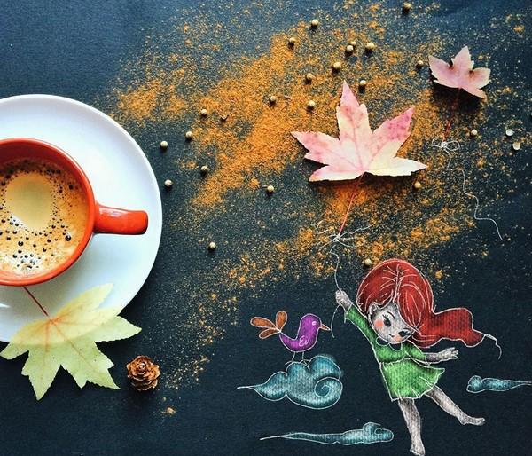 ranná káva  by Cinzia Bolognesi