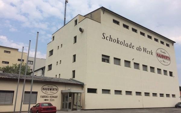 Čokoládovňa Hauswirth - výrobňa.