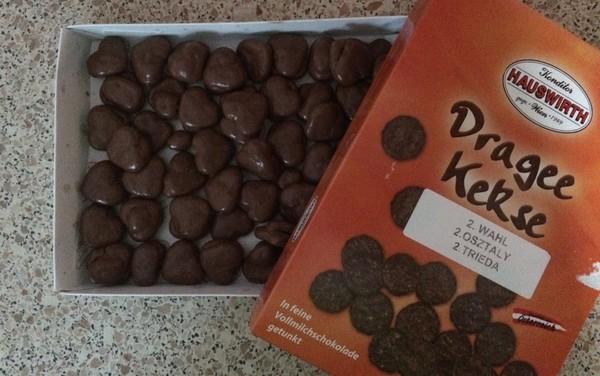 keksíky v čokoláde