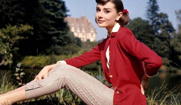Vždy elegantná Audrey Hepburnová.