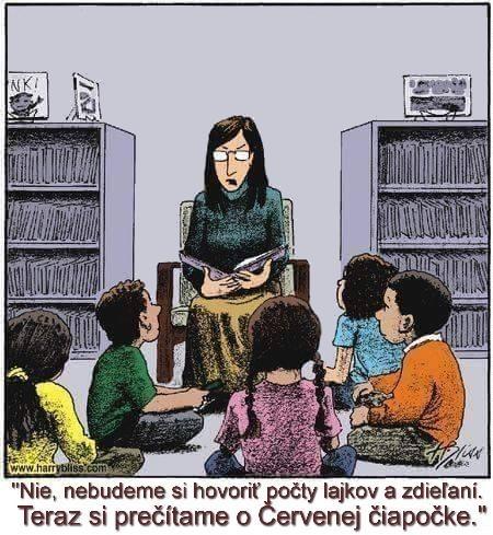 budeme si čítať...