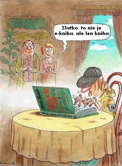 kniha alebo e-kniha