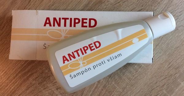 šampón Antiped