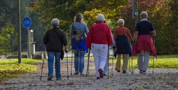 chôdza starí