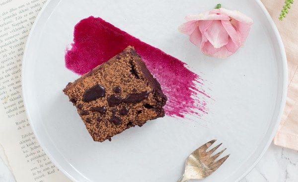 cviklové brownie