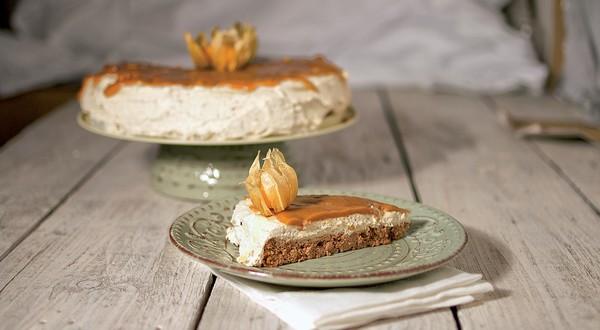 torta so slaným karamelom