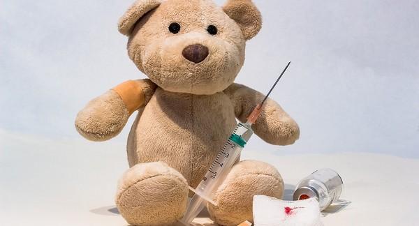 osýpky a očkovanie detí