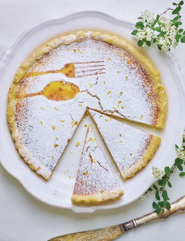 Ricottovo-pomarančová torta