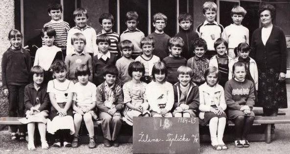 Miro Jaroš v škole
