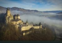 Oravský hrad z dronu. Takéto video ste ešte nevideli