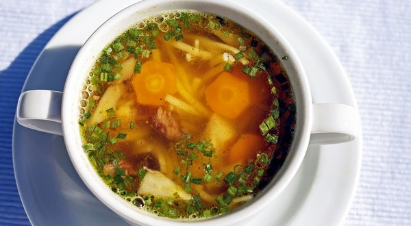 liečivá polievka vývar