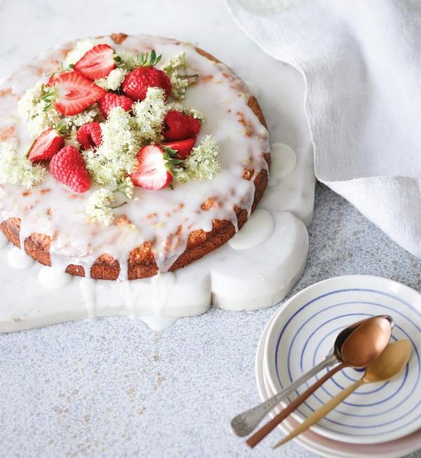 mandľová torta recept