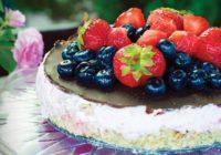Jahodová tortička smascarpone (maškrta na víkend)