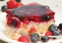 Pšenovo-tvarohový koláč (maškrta na víkend)