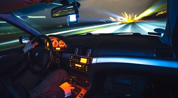 noc za volantom