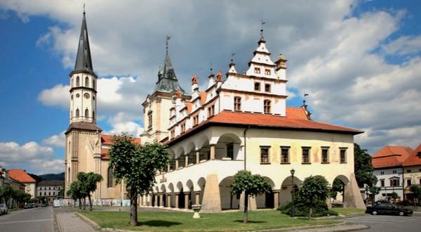 slovenské klenoty UNESCO Levoča