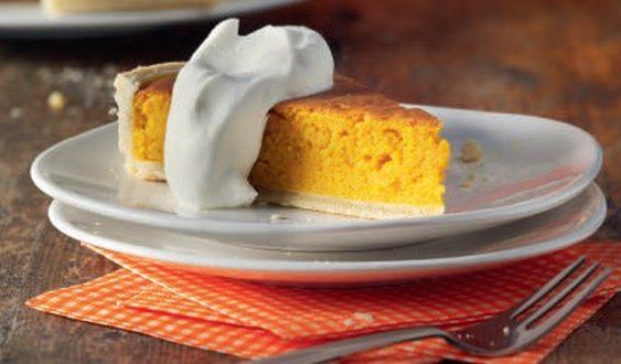 tekvicový koláč so zázvorom