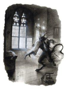 strašidelné povesti čert