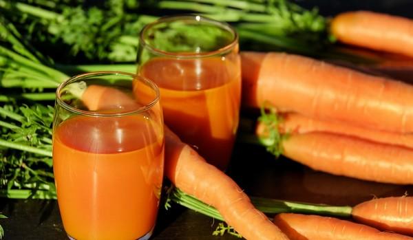zeleninové šťavy mrkvová