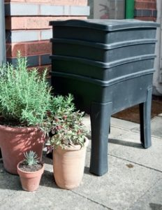 vermikompost kompostér