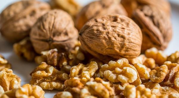 zdravé orechy
