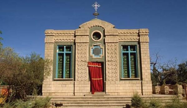 Kaplnka v komplexe kostola Panny Márie Sionskej v Aksúme