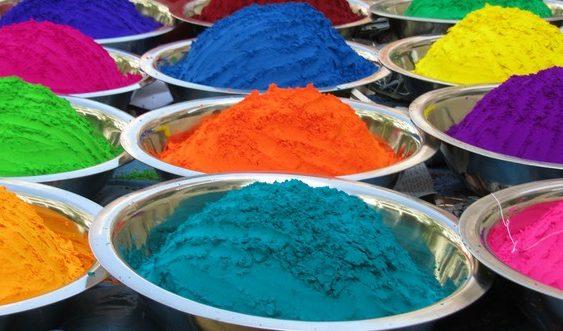 farby a vône