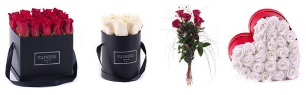 valentínske darčeky kvety
