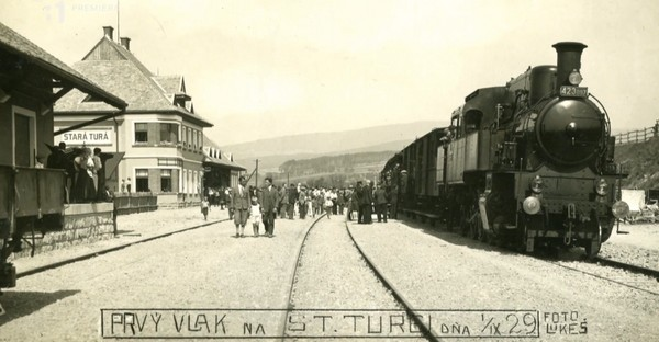 prvý vlak