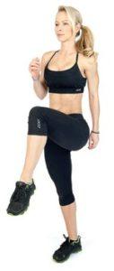 cviky na brucho vysoké kolená