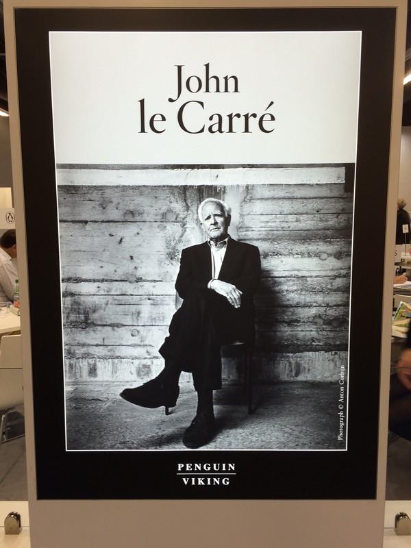 John le Carré - autor špionážnych a politických trilerov.