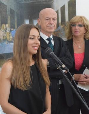 Adriana Kučerová Nekonečný Leonardo