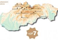 TOP 7 zaujímavostí na povrchu Slovenska