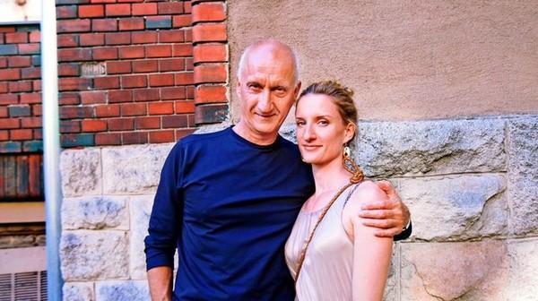 Adela Banášová a jej otec Jozef.