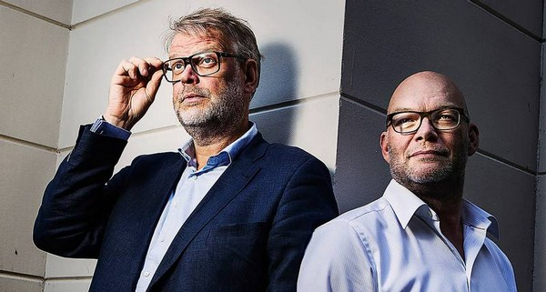 Michael Hjorth a Hans Rosenfeldt. Autori série o Sebastianovi Bergmanovi.