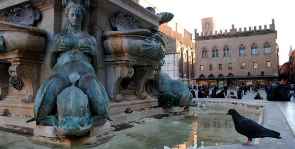 fontána Bologna