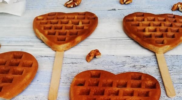 zdravé desiate wafle