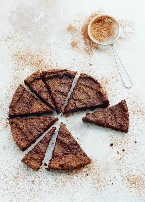 Vynikajúca čokoládová torta.