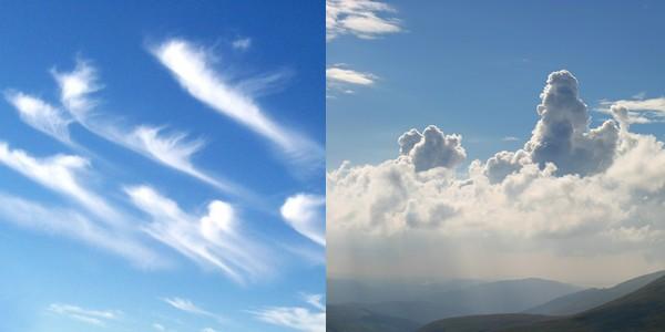televízne počasie oblaky