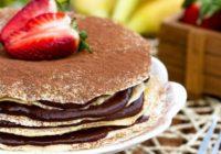 Voňavá torta zovsených palaciniek (RECEPT)