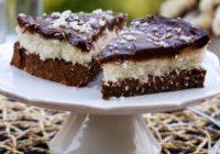 Fit torta ČOKOBA. Čokoládovo-kokosovo-banánová
