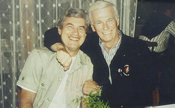 Jiří Gyrgar a Eugene Cernan