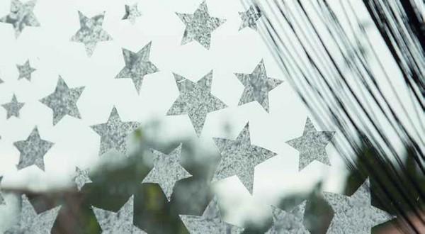 dekorácie na okno advent